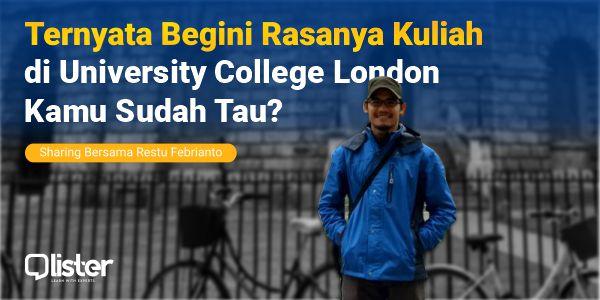 sharing kuliah di london