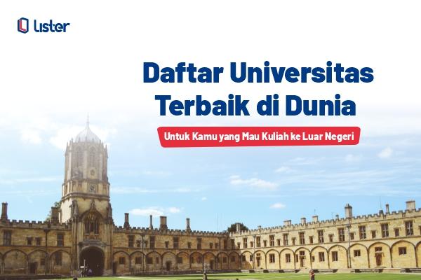 Daftar Universitas Terbaik Dunia