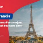 Prancis: Romansa Pascasarjana dengan beasiswa Eiffel 2021