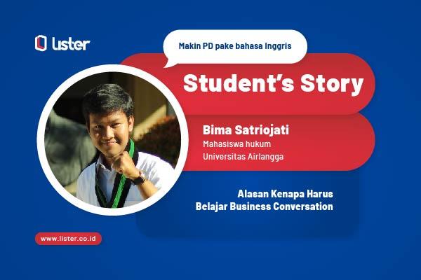 Student's Story: Alasan Kenapa Harus Belajar Business Conversation