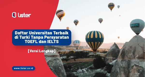 kuliah ke turki tanpa ielts dan toefl
