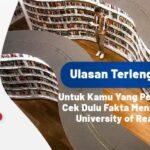 Ulasan Terlengkap! Cek Dulu Fakta Menarik dari The University of Reading