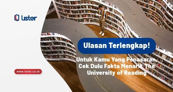ulasan tentang The University of Reading