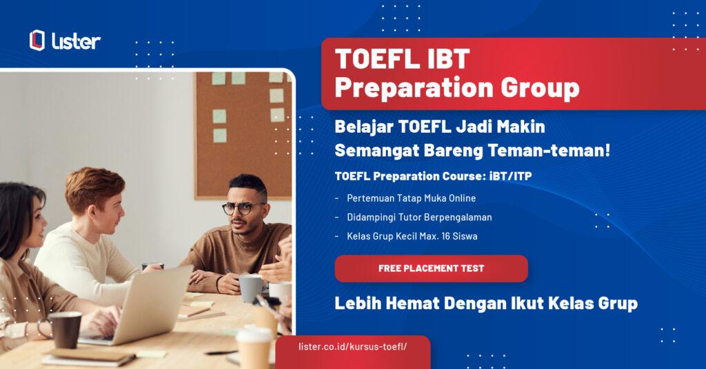 Toefl IBT Preparation Class