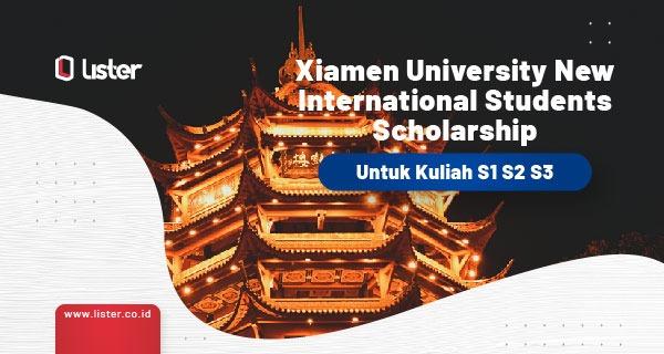 Beasiswa Xiamen di Cina