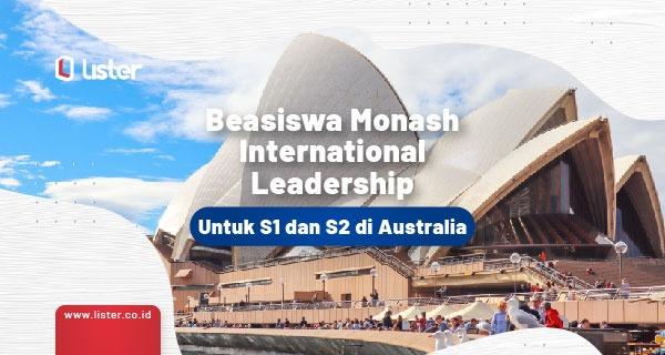 Beasiswa Monash International Leadership di Australia