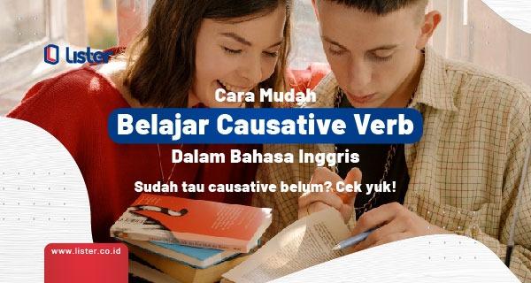 belajar causative verb dalam bahasa Inggris