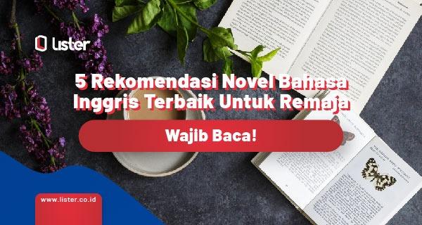 5 rekomendasi novel bahasa Inggris
