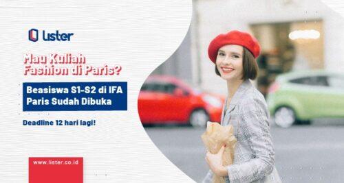 Beasiswa S1-S2 IFA Paris