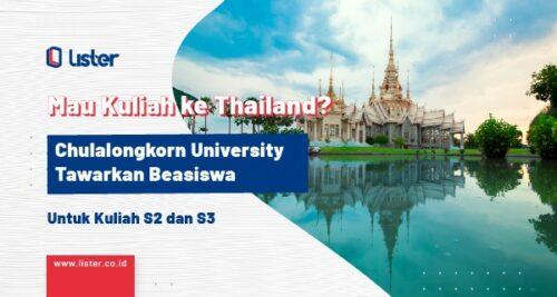 Kuliah S2 S3 ke Thailand