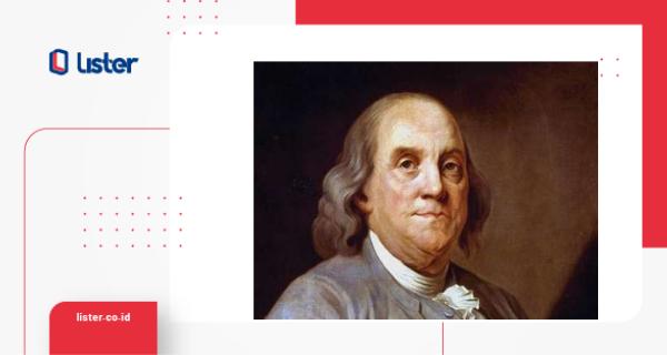 Benjamin Franklinn Amerika