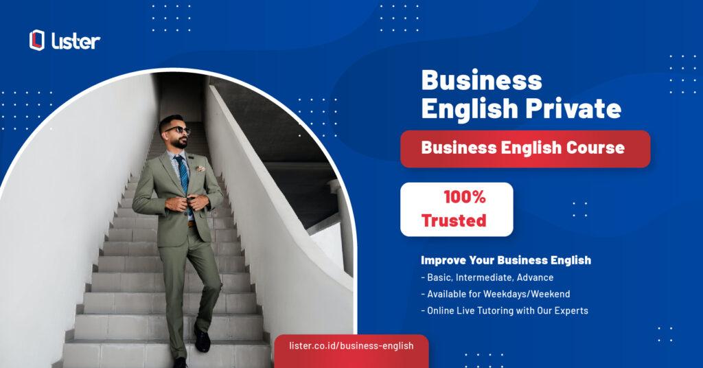 Kelas bahasa Inggris bisnis lister